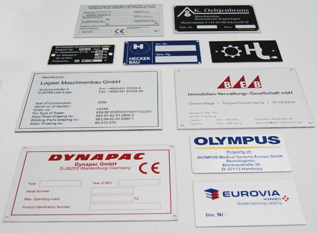 Typenschilder-Max-Hering-Oldenburg